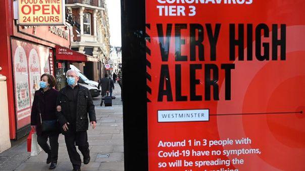La variante británica del nuevo coronavirus, identificada como B117, ha sido detectada en 25 países europeos, incluyendo a Rusia.