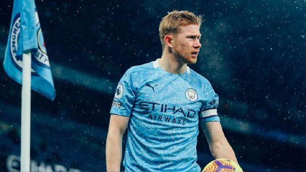 Kevin De Bruyne será baja en Manchester City al menos por cuatro semanas