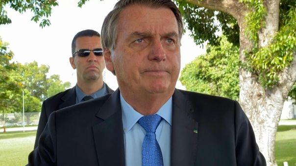 Bolsonaro es escéptico sobre la gravedad de la pandemia y la eficacia de las vacunas.