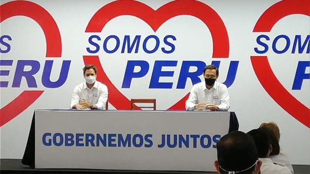 Martín Vizcarra presentó en Huancayo su propuesta de cambio de la Constitución.