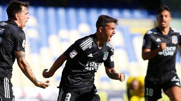 Gabriel Costa anotó para Colo Colo ante Coquimbo Unido
