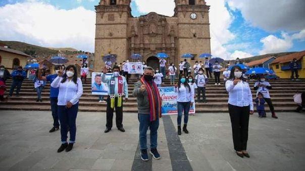 Yeny Solidad Quispe Quiquijana es candidata al Congreso por Puno con el número 6 de APP.