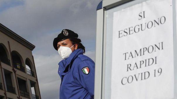 Italia registró 299 muertos por coronavirus en las últimas 24 horas
