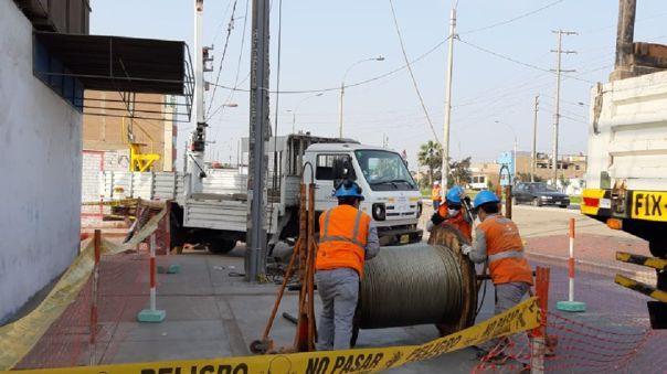 Enel cortará la luz en algunas zonas de Lima y Callao