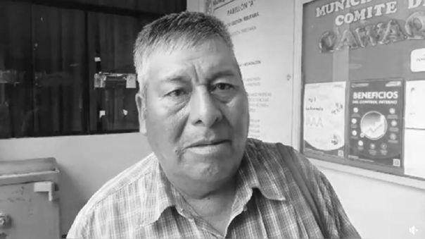 Erasmo Flores Condori, alcalde del Centro Poblado de Huaytire.