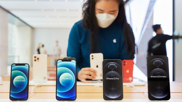 Los cuatro modelos de iPhone 12 son compatibles con MagSafe.