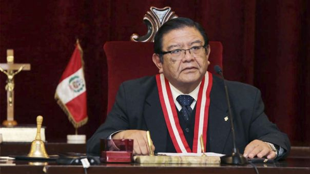 Jorge Luis Salas, presidente del JNE.