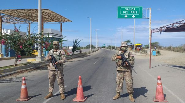 Control de frontera Perú-Ecuador