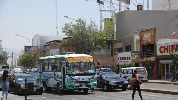 Contaminación ambiental en Trujillo.