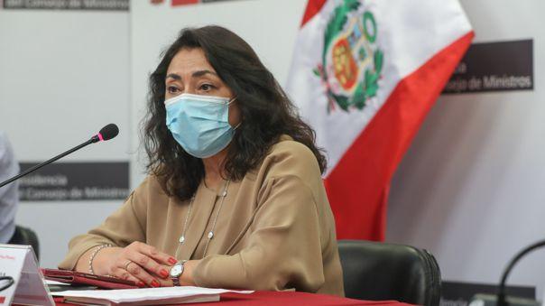 Presidenta del Consejo de Ministros dio detalles de las nuevas medidas dictadas por el Gobierno.