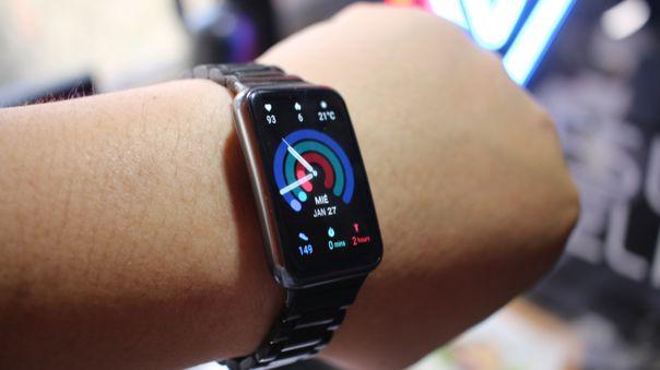 NIUSGEEK tiene a prueba al Huawei Watch Fit