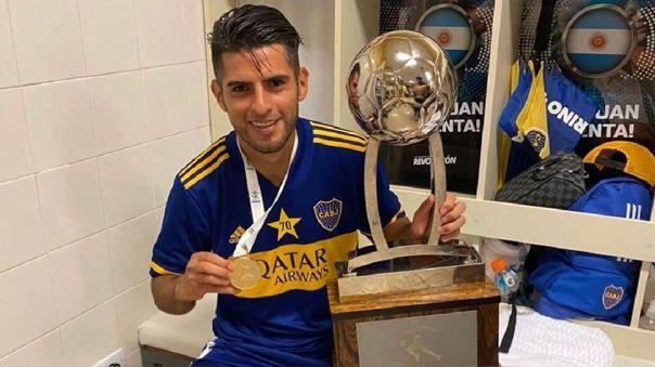 Carlos Zambrano tiene dos títulos con Boca Juniors