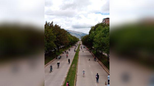 Las autoridades cusqueñas priorizaron la habilitación de espacios públicos para el uso de bicicletas los domingos.
