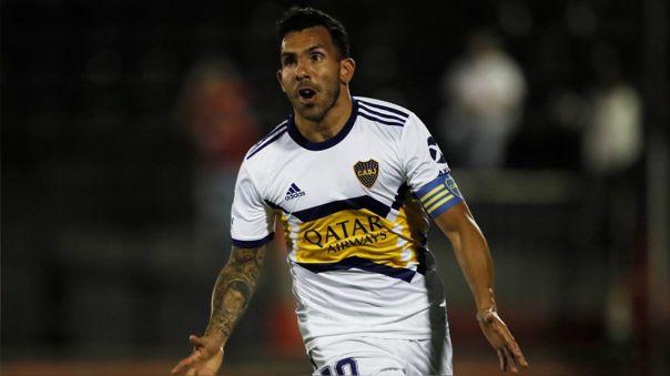 Carlos Tévez tiene 11 títulos con Boca Juniors