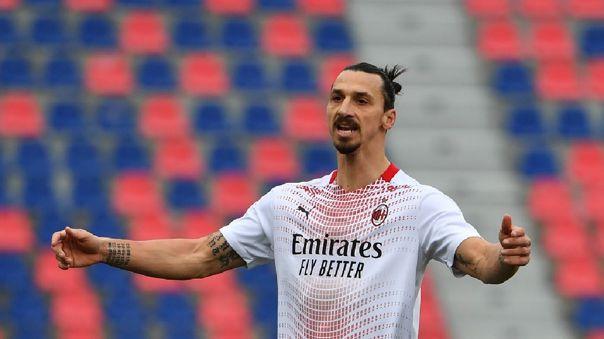 Zlatan Ibrahimovic falló un penal contra Bologna en la Serie A