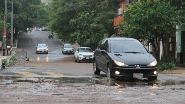 Al menos tres muertos dejó este domingo una fuerte tormenta en la capital paraguaya