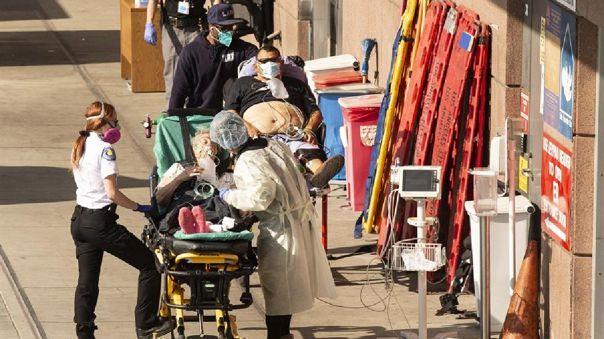 Estados Unidos es el país más afectado por la pandemia