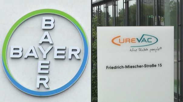 Bayer y el laboratorio CureVac, con sede en Tubinga, anunciaron en enero una asociación para acelerar el desarrollo de vacunas.