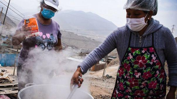 Hoy se hará el reparto a comedores populares y ollas comunes de 94 toneladas donadas para varios distritos de Lima