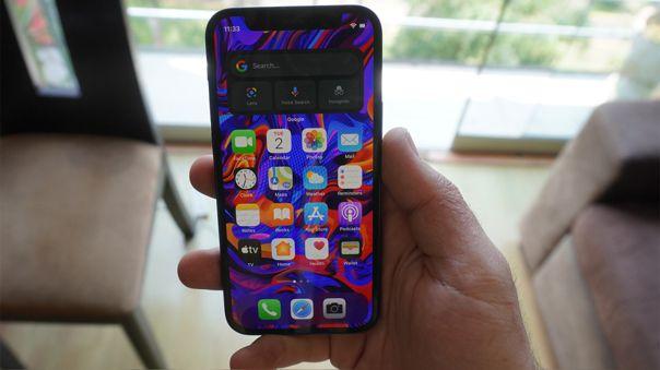 Este es el compacto iPhone 12 mini.