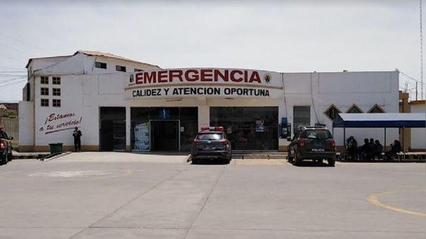 Hospital regional de Huacho, una de las provincias que también entró en cuarentena focalizada.