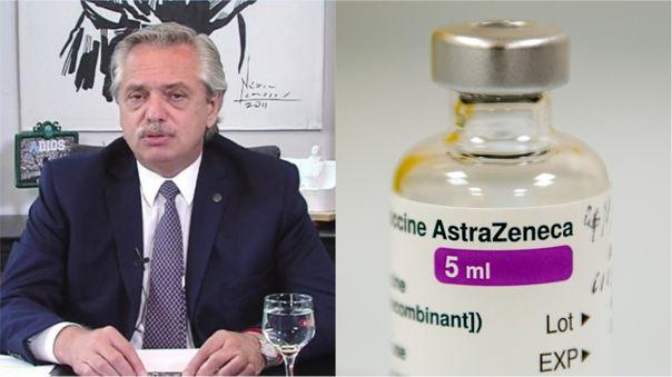 Actualmente, Argentina produce la vacuna de Astrazeneca, mas no la distribuye.