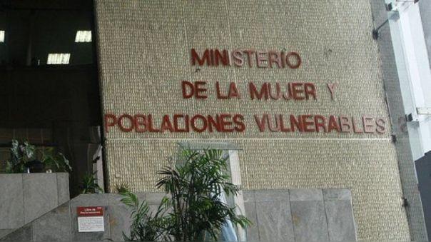 Ministerio de la Mujer y Poblaciones Vulnerables.