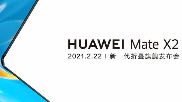 El Mate X2 será presentado el 22 de febrero.