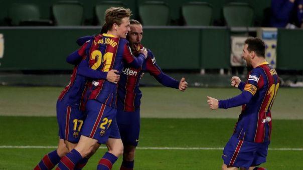 Barcelona venció 3-2 al Betis