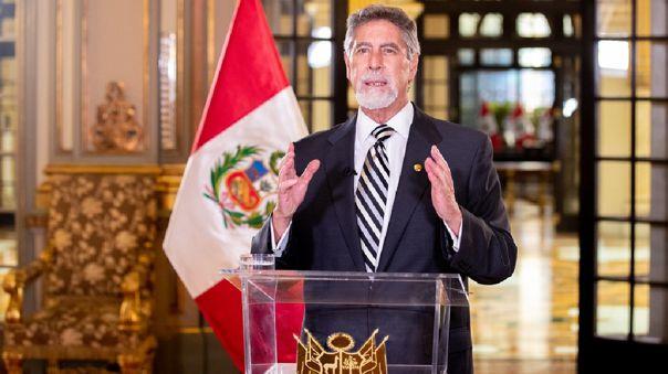Presidente de la República, Francisco Sagasti.