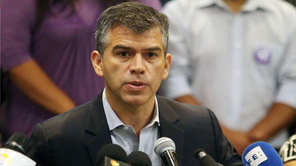 Julio Guzmán, candidato presidencial del Partido Morado