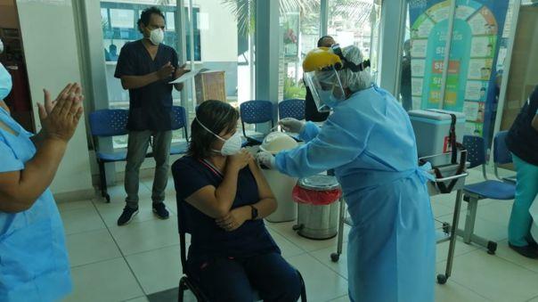 Vacunación regiones