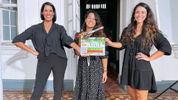 """Medias hermanas"""": Gianella Neyra y Magdyel Ugaz culminan el rodaje de su  nueva película   RPP Noticias"""