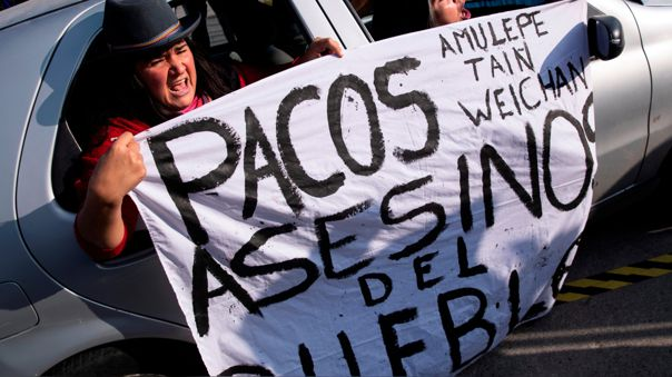 -FOTODELD́- CHILE VIOLENCIA POLICIAL