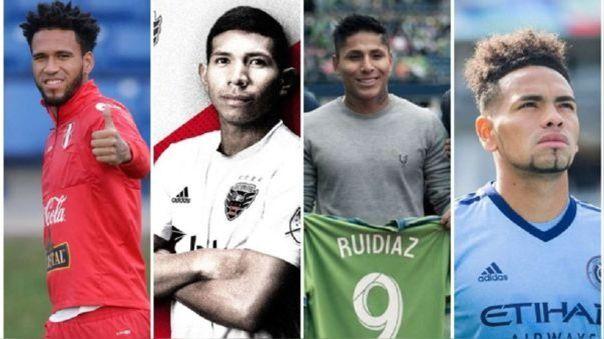 Siete futbolistas peruanos juegan en la MLS