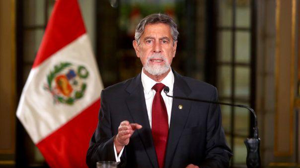Francisco Sagasti ofreció un Mensaje a la Nación.
