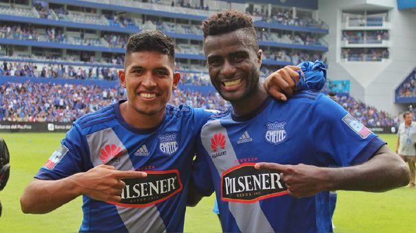 Bruno Vides y Christian Ramos fueron compañeros en Emelec de Ecuador