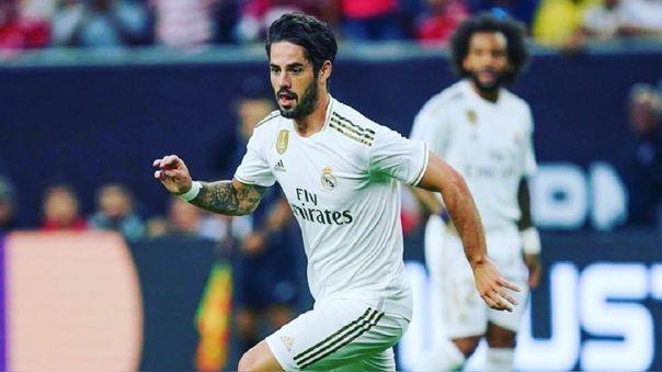 Isco Alarcón tiene contrato con el Real Madrid hasta el 2022