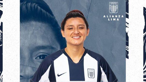 Cindy Novoa se convirtió en nueva jugadora de Alianza Lima