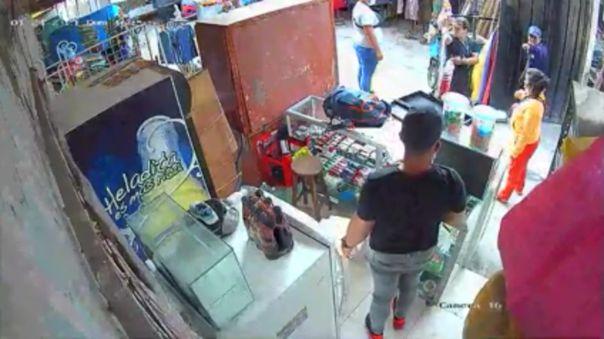 Trujillo: Policía investiga crimen ocurrido en mercado Palermo
