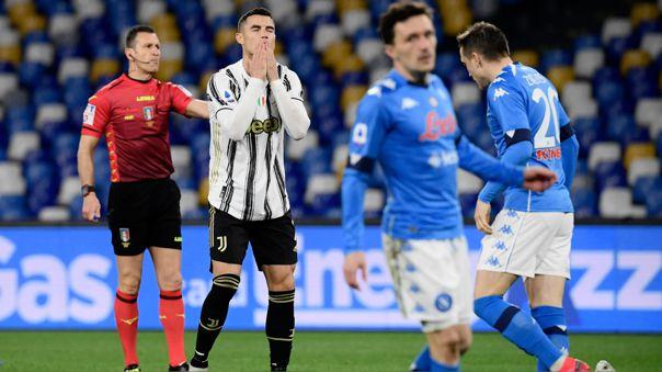 Cristiano Ronaldo es titular en el Juventus vs. Nápoli por la Serie A