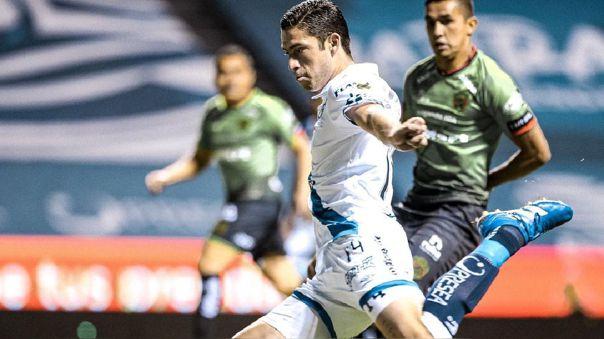 Santiago Ormeño marcó su primer 'hat-trick en la Liga MX