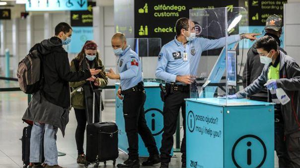 Portugal anunció que extiende la suspensión de todos los vuelos