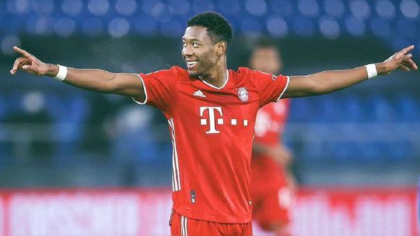David Alaba ganó el 'sextete' con Bayern Munich en 2020-21