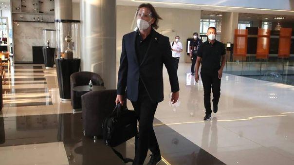 Ricardo Gareca viajó a Argentina antes de la cuarentena en Lima