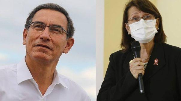 Martín Vizcarra y Pilar Mazzetti, vacunados en secreto.