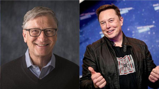Bill Gates y Elon Musk