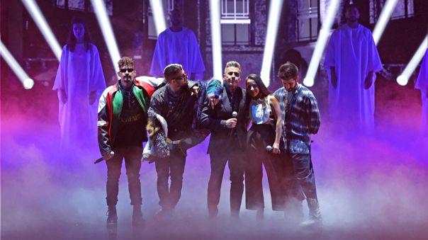 Los Montaner en los Premios Lo Nuestro 2021