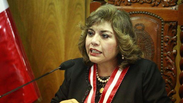 Zoraida Ávalos, fiscal de la Nación.