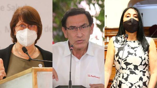 Presidencia/MINSA/Cancillería